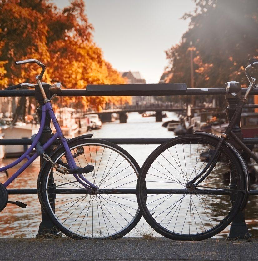 abgeschlossene Fahrräder