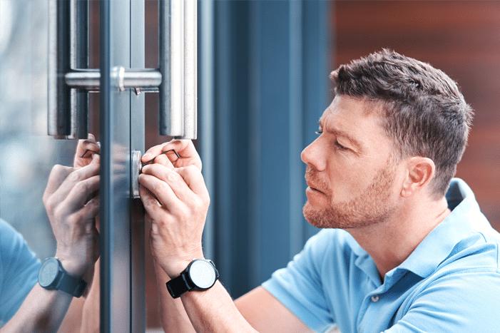 Türöffnung durch den Schlüsseldienst